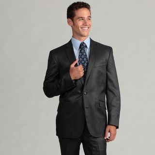 Kenneth Cole Reaction Mens Navy Slim Fit Suit
