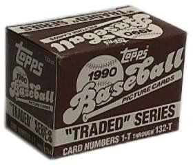 1990 Topps Baseball Traded Set