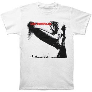 Rockabilia Led Zeppelin T shirt Clothing