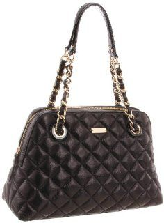 Spade New York Gold Coast Georgina Shoulder Bag,Black,One Size Shoes