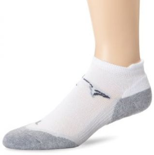 Greg Norman Mens Low Cut Sock, White, One Size Clothing
