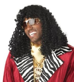 California Costumes Mens Supa Freakin Wig,Black,One Size