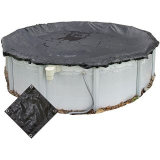 Rugged 28 foot Round Above ground Mesh Pool Cover