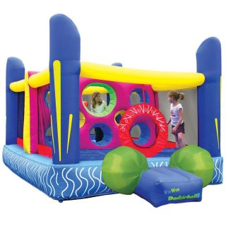 KidWise Jumpn Dodgeball Inflatable Bounce House