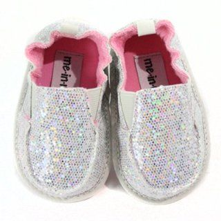 Me In Mind Childrens GirLS Pixie Silver Cruiser Shoe L 12 18 Mo Shoes