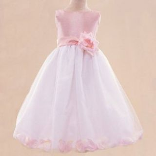 New PINK Baby FLOWER GIRL PAGEANT Wedding Dress 3T Lito