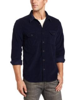 Lucky Brand Mens Blues Western Shirt Clothing