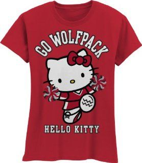 NCAA North Carolina State Wolfpack Hello Kitty Pom Pom