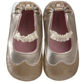 Mary Jane (Infant/Toddler),Gold,3 6 Months (2 M US Infant) Shoes