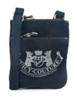 Juicy Couture Scottie Dog Cross Body Black Purse Handbag