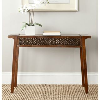 Safavieh Raymond Console Dark Brown Console Table