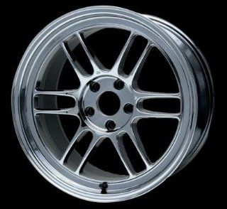 Enkei RPF1 17x8 5x114.3 45mm Offset 76mm Bore Matte Black Wheel   Set