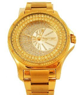 Mens King Master Genuine Diamond with crystal Watch Watches