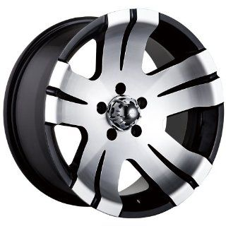 Ion Alloy 138 Black Machined Wheel (15x8/5x127mm)
