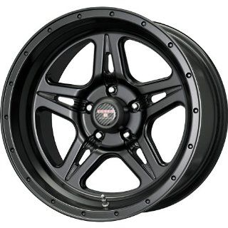 Level 8 Strike 5 Matte Black Wheel (17x9/5x127mm)