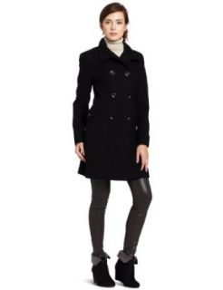 Nicole Miller Womens Architectural Coat Clothing