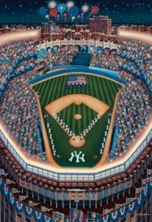 New York Yankees Yankee Stadium 500 Piece Jigsaw Puzzle
