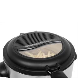 Ware Stainless Steel Electric 6 cup Deep Fryer