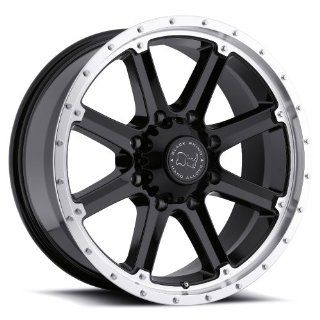 17x9 Black Rhino Moab (Gloss Black w/ Machined Lip) Wheels/Rims 6x139