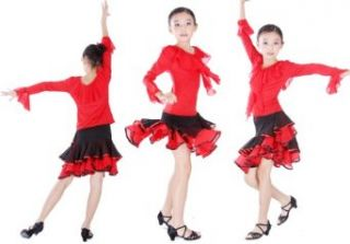 SFG142RDBKXL New Children Kid Girl Ballroom Smooth Latin