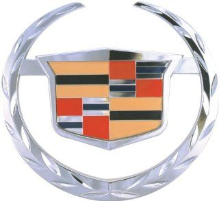 Bully CR 141 Chrome Cadillac Escalade Logo Hitch Cover