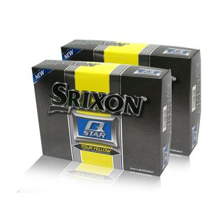 Srixon Q Star Tour Yellow Golf Balls (Case of 24)