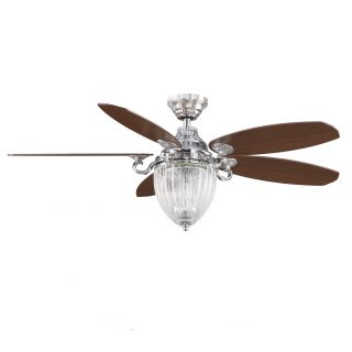 Fanimation Stonehill 52 Inch Chrome 3 light Ceiling Fan Today $499.00