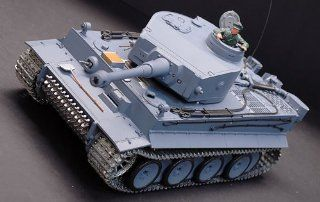 New Metal Tracks Edition 1/16 German Tiger I Airsoft RC