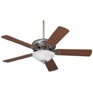 52 Casa Vieja Trilogy Pewter Ceiling Fan with Light Kit