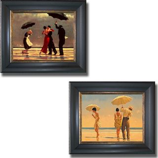 Vettriano   Beaches Framed Canvas Art Collection