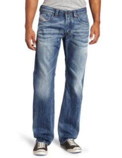 Diesel Mens Larkee Regular Straight Leg Jean Clothing