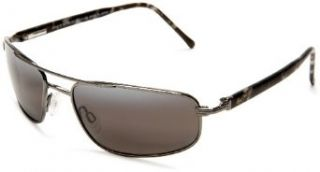 162 02 Gunmetal Kahuna Aviator Sunglasses Polarised Maui Jim Shoes