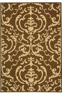Claire Outdoor Area Rug, 67ROUND, SAND BROWN Home