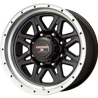 Level 8 Strike 8 Matte Black Wheel with Machined Lip (16x8.5/8x170mm