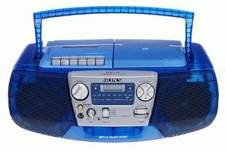 Sony CFDV177 CD/Radio Cassette Recorder (Blue)