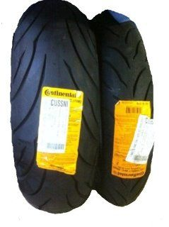 CONTINENTAL MOTION Tire Set 120/70zr17 Front & 180/55zr17 Rear 180 55