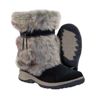 Itasca Womens Inuit Winter Snow Boot   Black Shoes