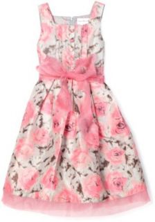 Sweet Heart Rose Girls 7 16 Printed Sleeveless Dress, Pink