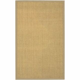 Hand Woven Mandara Beige Border Rug (5 x 8) Today $139.99