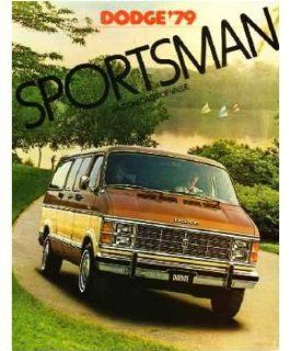1979 Dodge Sportsman Van Sales Brochure Literature Book Advertisement