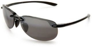 Jim Hapuna Sunglasses   Gloss Black/ Neutral Grey Maui Jim Shoes