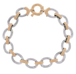 14k Two tone Gold Reversible Bracelet