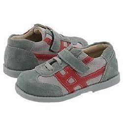 See Kai Run Kids Elias (Infant/Toddler) Two Tone Gray W/ Red