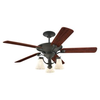 Sea Gull Lighting Somerton 56 inch Blacksmith Ceiling Fan Today $630