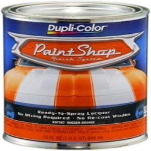 Dupli Color BSP207 Hugger Orange Paint Shop Finish System   32 oz