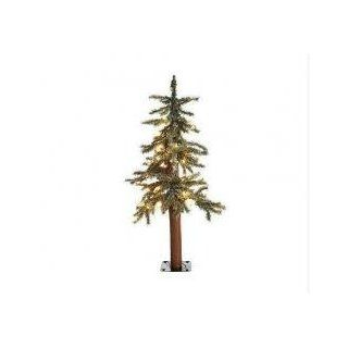 2.5 Pre Lit Frosted Alpine Artificial Christmas Tree