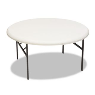 Iceberg IndestrucTable TOO 1200 Series Resin Round 60 Folding Table