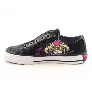 Ed Hardy Kids Youth Kids Girlss 11FLR301K LR Glitter Black Athletic