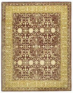 Safavieh Silk Roads SKR213G Maroon and Ivory Handmade New
