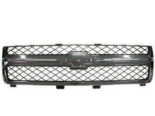 GENUINE GM 20966058 11 12 Chevy Silverado HD Chrome Front Grille